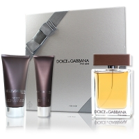 Dolce & Gabbana the One men Set 100ml EdT Spray 75ml Aftershave Balsam 50ml Showergel